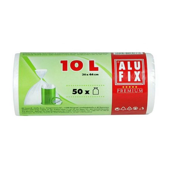 Kukazsák 10l-es 50db-os Alufix