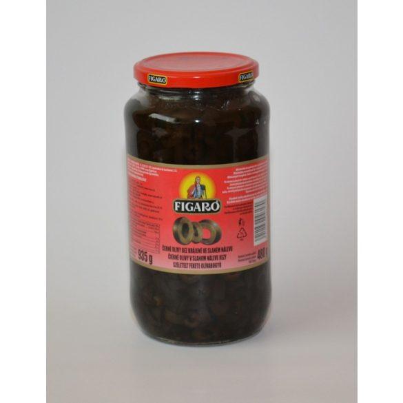 Olívabogyó fekete egész, magozott 935ml BC