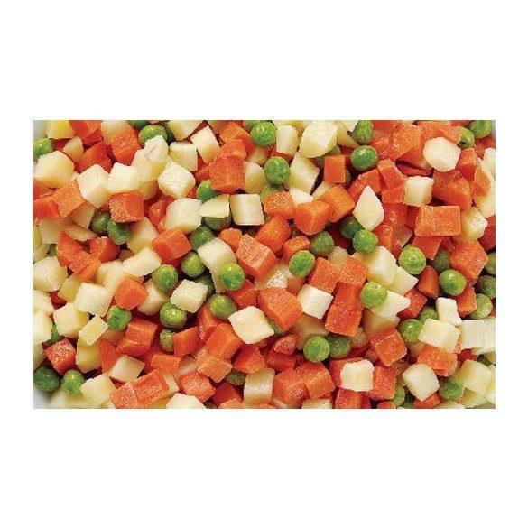 Zöldségkeverék kocka 2,5kg mirelit (leves)