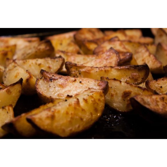 Steak burgonya héjas, fűszeres 2,5kg mirelit