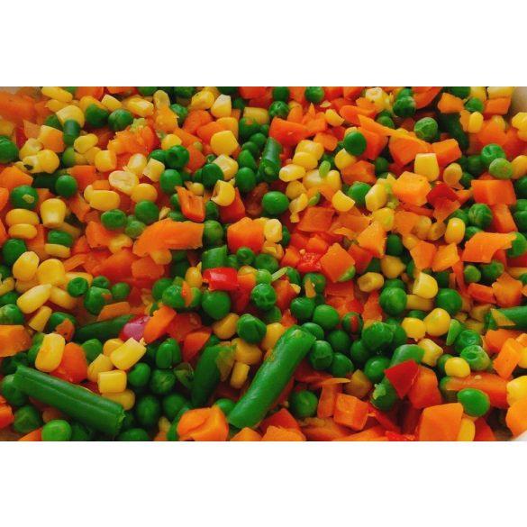 Mexikói zöldségkeverék 2,5kg mirelit