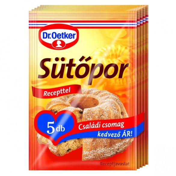 Sütőpor 12g Dr Oetker 5db-os