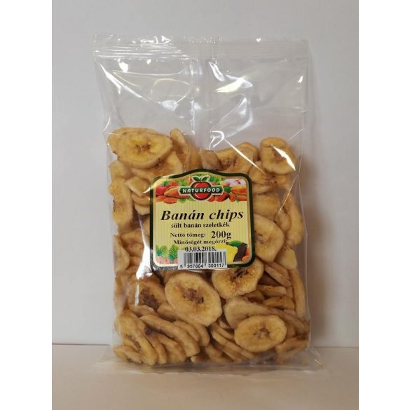 Banán chips 200g Naturfood