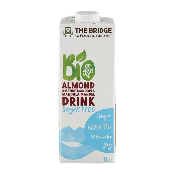 The Bridge BIO mandulatej cukormentes 1000ml