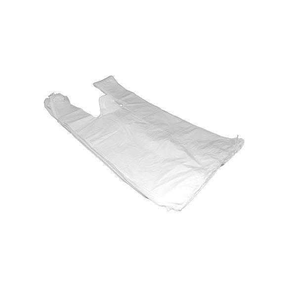 Nylon szatyor 28*50-es fehér 100db-os