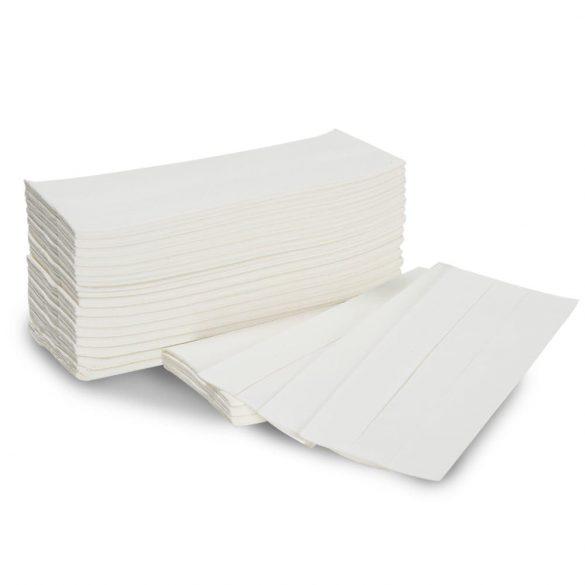 """Kéztörlő """"Z"""" hajtogatású fehér 160lap/csomag 2rétegű 20csom/#"""