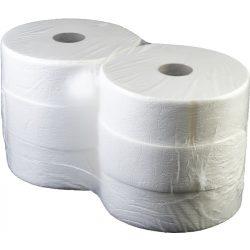 Wc papír fehér 2étegű ipari 23cm-es 6tek/csomag