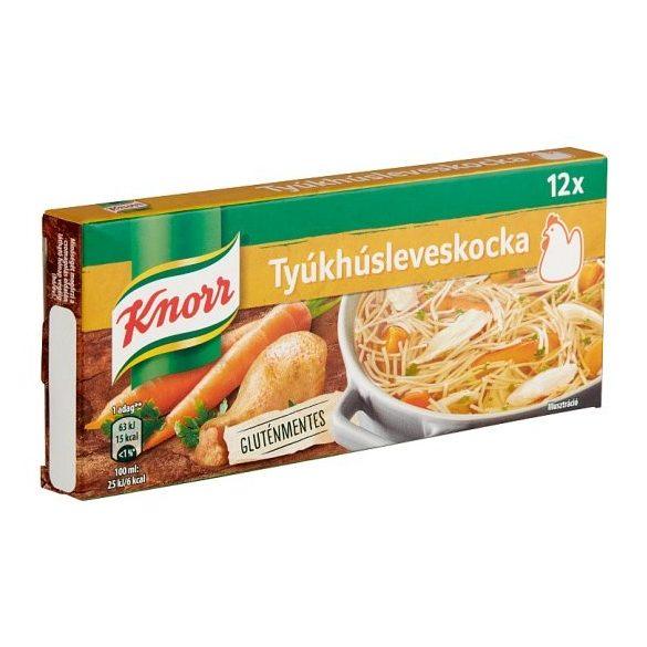 Tyúkhúsleveskocka 120g Knorr