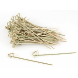 Bambusznyárs hurkolt végű 250db-os 6cm-es