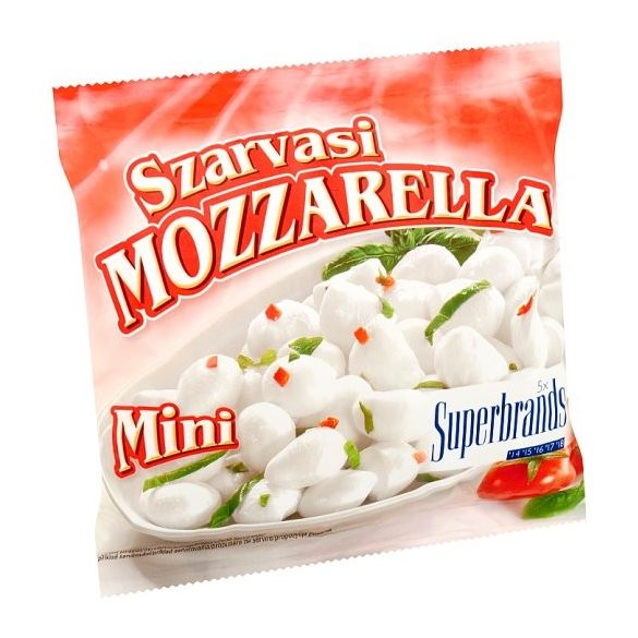 Mozzarella 100g Szarvasi mini