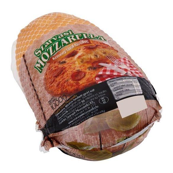 Pizza mozzarella füstölt 1kg Szarvasi